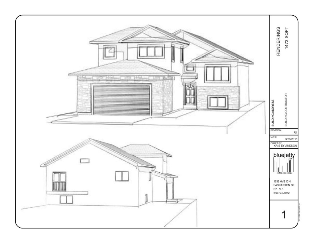 Bi level house plans saskatoon house plans Modified bi level home plans